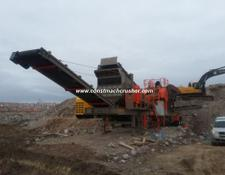 Constmach mobile crushing plant MOBILE JAW CRUSHER, DELIVERY FROM STOCK