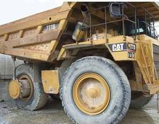 Caterpillar haul truck 777D