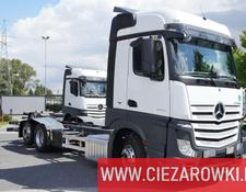 Mercedes-Benz chassis truck Actros 2545 , E6 , 6x2 , Low Deck , Retarder , 2 x bed , ACC , S