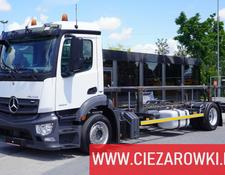 Mercedes-Benz Antos 1824 , E6 , BDF , 70K km !  , Low deck , hydraulic lift ,