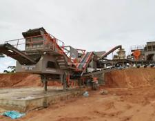 Constmach mobile crushing plant 250 -300 tph MOBILE CRUSHING PLANT FOR HARD STONES