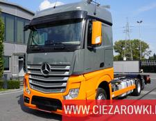 Mercedes-Benz chassis truck Actros 2548 , E6 , 6x2 , Low Deck/Mega , chassis 7m , StreamSpac