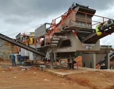 Constmach mobile crushing plant CAPACITY MOBILE GRANITE CRUSHING PLANT
