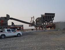 Constmach mobile crushing plant MOBILE JAW and IMPACT CRUSHER, 2 YEARS WARRANT, 150 tph CAPACITY