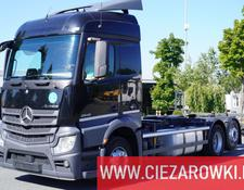 Mercedes-Benz chassis truck Actros 2542 , E6 , 6x2 , BDF , chassis 7m , retarder , Streamspa