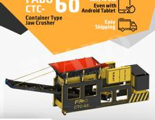 Fabo CTC-60 CONTAINER TYPE JAW CRUSHER
