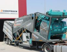 Constmach 60 m3/h CAPACITY, PORTABLE CONCRETE BATCHING PLANT, WITH CE CERT