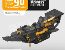 Fabo Fabo FTJ-90 Tracked Jaw Crusher