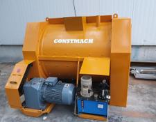 Constmach SINGLE SHAFT CONCRETE MIXERS, 2 YEARS WARRANTY, DELIVERY FROM ST