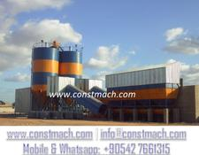 Constmach STATIONARY 240 CONCRETE PLANT READY FOR SHIPMENT