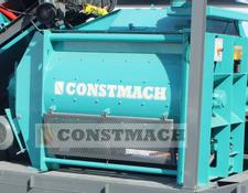 Constmach concrete plant 1 m3 TWIN SHAFT MIXER IS READY AT STOCK